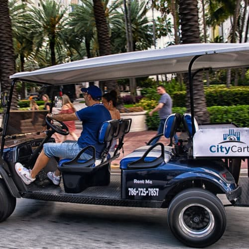 golf cart rental Miami Beach